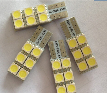 1pcs/lot T10 W5W 194 927 161 t10 6led 5050 SMD LED Car Side Light Lamp Bulb image