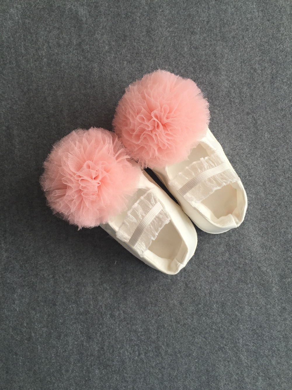First Walkers Girl Pink Baby Girl Flower Shoes Christening Shoes