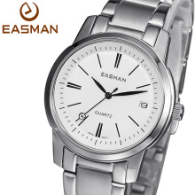 EASMAN Brand Wristwatch Women Watch Date Calendar Ladies Watch New Stainless Black Woman Quartz Watch For