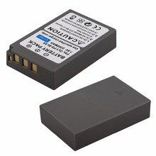 2x 2200mAh PS-BLS5 BLS-5 BLS5 BLS-50 BLS50 Battery for Olympus PEN E-PL2,E-PL5,E-PL6,E-PL7,E-PM2, OM-D E-M10, E-M10 II, Stylus1
