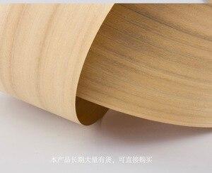 Image 3 - 1Piece Length: 2.5 meters  thickness:0.52mm  Width: 15cm  Natural Poplar Tree Wood Veneer Furniture Refurbished Veneer