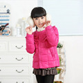 2017 Brand New Winter Autumn Warm Jacket Girls Down Coat Parkas High Quality Kids Fashion Down Coat Girls Outerwear Coat WJ0610