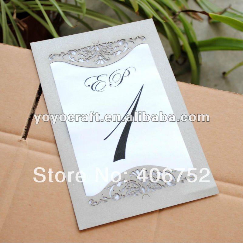 new design customized beautiful elegant wedding invitation card ...