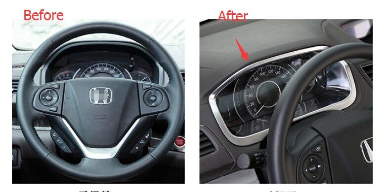 Matt style! ABS Dashboard Instrument Panel Decoration Cover For honda CRV CR-V 2012- 2014 agent provocateur браслеты crystal
