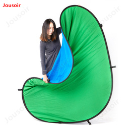 Background plate photography backdrop Blue-green double-sided blue green cloth 1.5*2 m CD50 T02 A