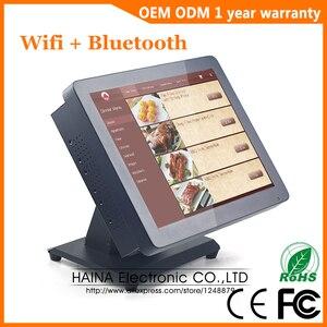 Image 3 - 15 Inch Metalen Touch Screen Pos Systeem Voor Restaurant Desktop Muur Opknoping Touch Screen Monitor