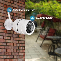 WIFI 1280 X 720P 1MP Bullet IP Camera Waterproof 6LED IR Night Vision Outdoor Security