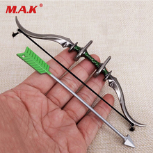 1:6  Soldier Figure Toys Parts Military Army 1/6 Scale Alloy Bow and Arrow Set Weapon Model Toy Gift