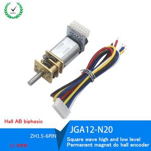 GA12-N20 DC motor Speed measur
