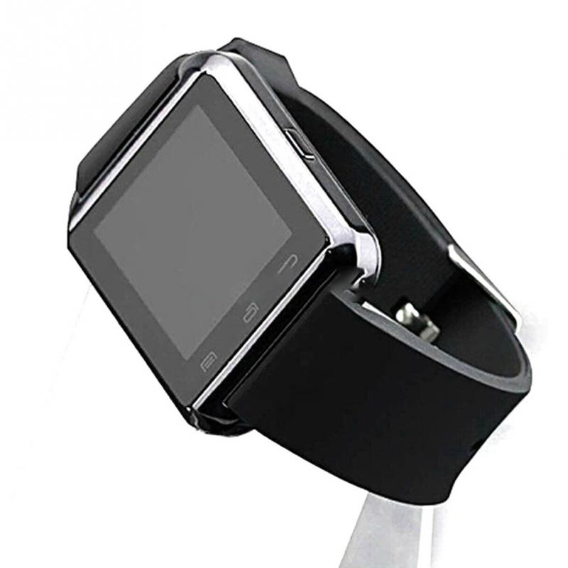 33d9e402910b U8 Smart Bluetooth Wrist Watch 3 Colors Fashion Men Women Watch U ...