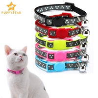 breakaway-cat-collar-with-bells-personalized-collars-for-cats-kitten-puppies-adjustable-reflective-dogs-collar-for-cat-ys0067