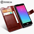 For LG Spirit Case Cover Flip Wallet Stand Design PU Leather Phone Bag Case For LG Spirit 4G LTE H420 H422 H440 H440N C70 TOMKAS