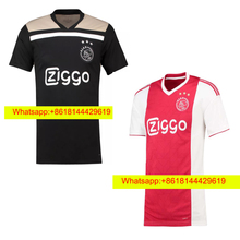 c31b9288c92 HOT Thai quality 2018 2019 Ajax FC soccer jersey 18 19 KLAASSEN FISCHEA  BAZOER MILIK home away football uniforms shirt TT