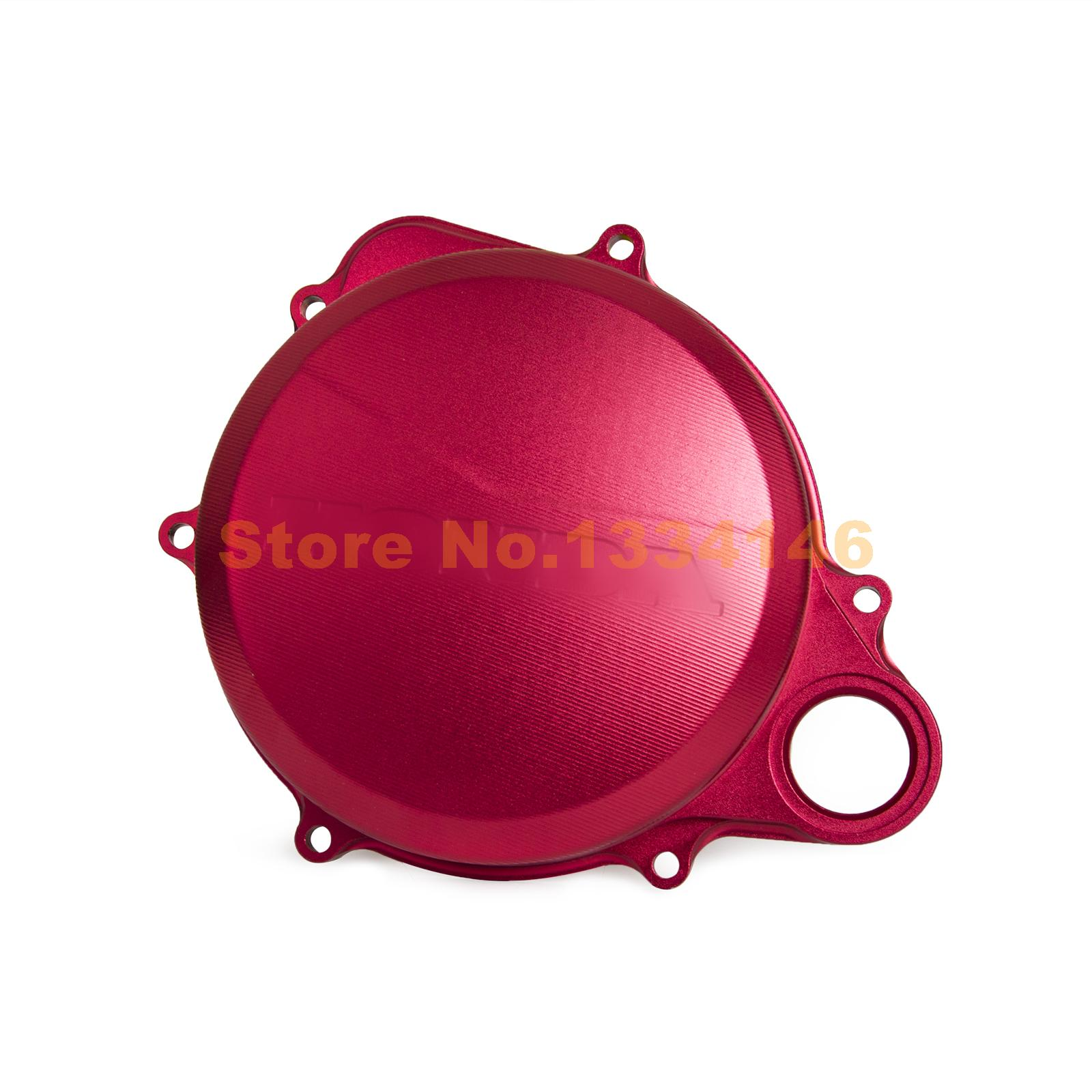 Red CNC Clutch Cover/Right Crankcase Cover for Honda CRF250R 2010 11 12 13 14 15 16