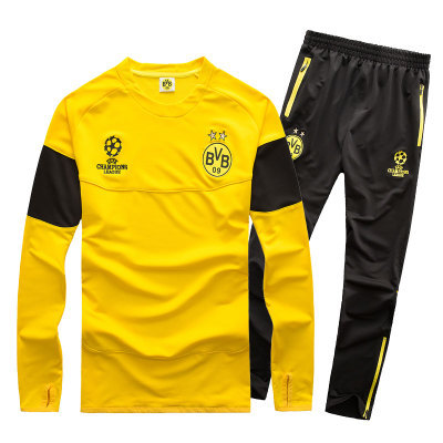 BVB 2014 Borussia League Dortmund football Survetement Soccer Jerseys 15 training from Borussia Tracksuit Sports Champions suit chandal Soccer Dortmund in qq6zwrE