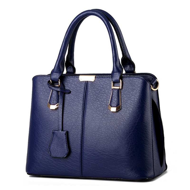 ФОТО Spring Handbag Elegant PU Leather Women Elephant Pattern Big Shoulder Bags Soft Ladies Han Edition Bag Female Bolsa Worn One Bag