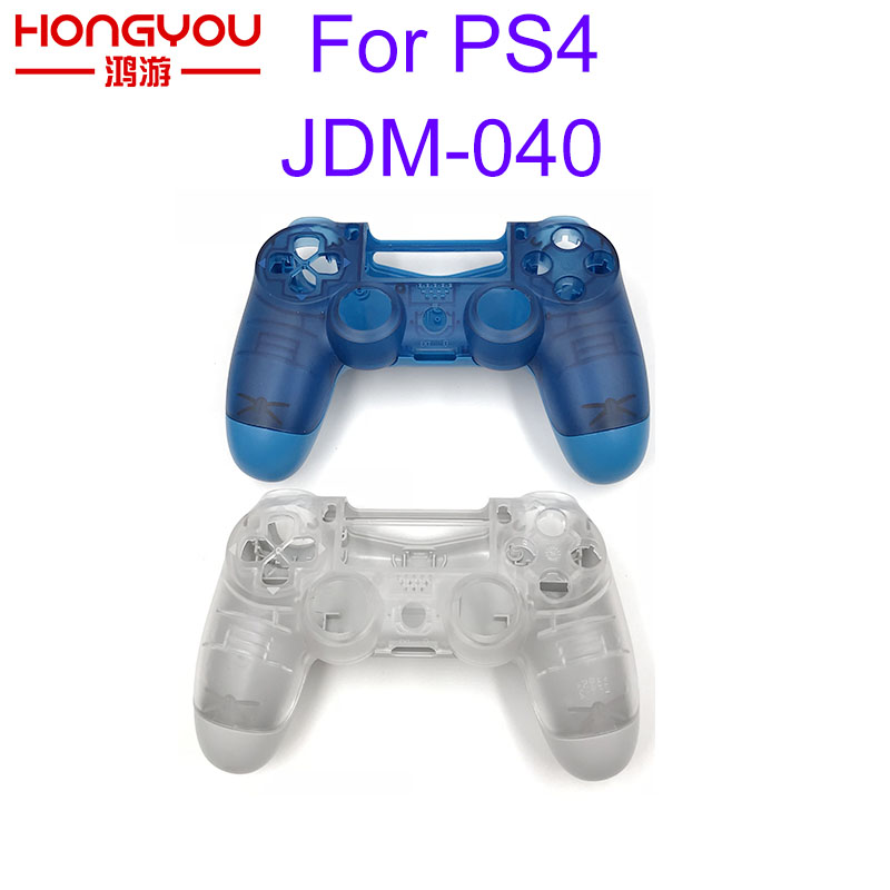 Plastic Housing Shell Case for Sony PS4 Pro Slim JDM-040 Wireless Controller Front Back CasePlastic Housing Shell Case for Sony PS4 Pro Slim JDM-040 Wireless Controller Front Back Case