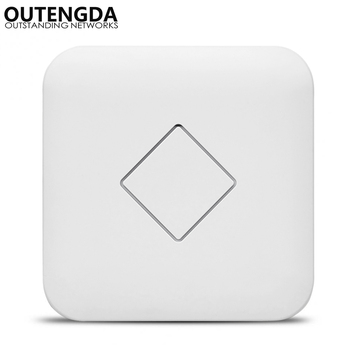1200Mbps 802.11AC Ceiling AP 2.4G 5G Router Wireless Wifi Router Hotspot Extender Wifi Extender PoE Access Point WIFI Repeater цена 2017