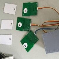 Ic-kaart sensor prop  kaart om de deur  foto of objecten sequence om het slot Real-life escape kamer game prop
