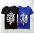 super junioT shirt / sjT shirt / SUPER JUNIOR5 Series short T-shirt / sj short-sleeved T-shirt / blue section