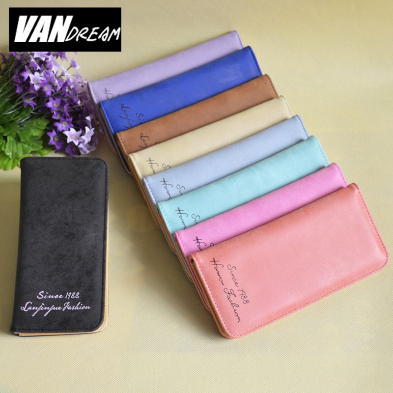New Designer Slim Women Wallet Thin Ladies PU Leather famous brand girls Coin Purses cards holder Clutch Cheap Womens Wallets сумка через плечо bolsas femininas couro sac femininas couro designer clutch famous brand