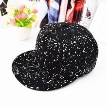 2016 Black Print Graffiti Satin Gorras Snapback Caps For Women Straight Brim Fashion Summer Hiphop Baseball Hats Men