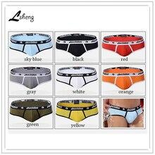 A set 8pcs brand men's underwears men cotton briefs male low waist brief panties man briefs shorts free shipping