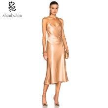 Shenbolen летнее платье смелый дизайн пикантные платье вечернее платье для женщин платье Бесплатная пакет почты
