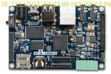 free shipping   AT91SAM9X35 Atmel development board ARM9 industrial grade single board control board core цена
