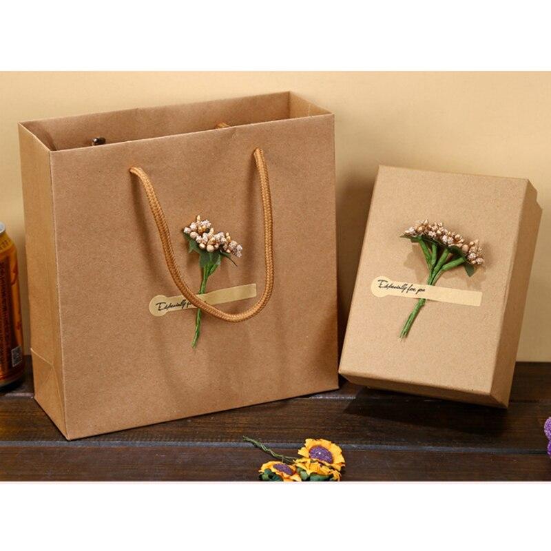 Aliexpress Com Buy Home Utility Gift Birthday Gift: DIY Gift Box Wedding Kraft Paper Box Gift Box Package