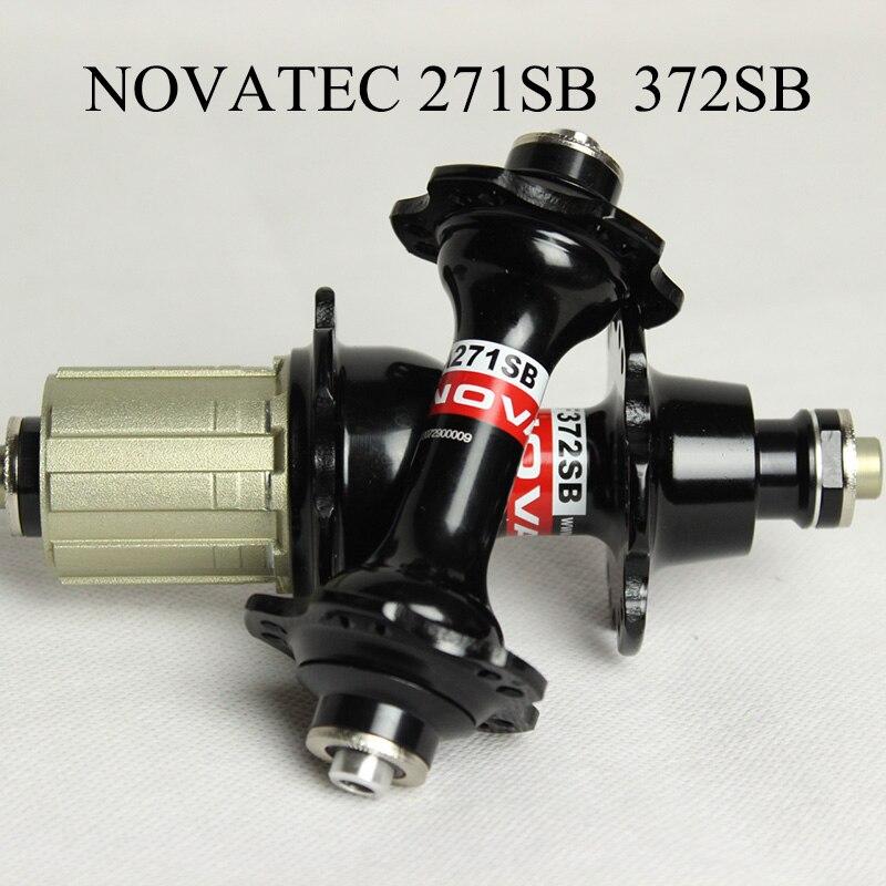 Moyeu en carbone novatec 271 pour pièces de vélo de course sur route moyeu de roues en carbone shiman0 moyeu de groupe standard japonais