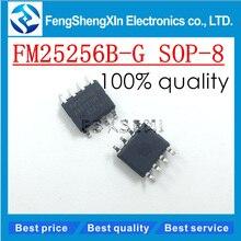 10 개/몫 새로운 fm25256bg FM25256B G sop 8 256kb fram 직렬 5 v 메모리 ic 칩