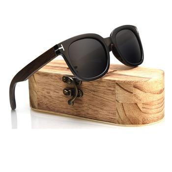Ablibi 2018 nuevas gafas de sol polarizadas de madera con estilo para...