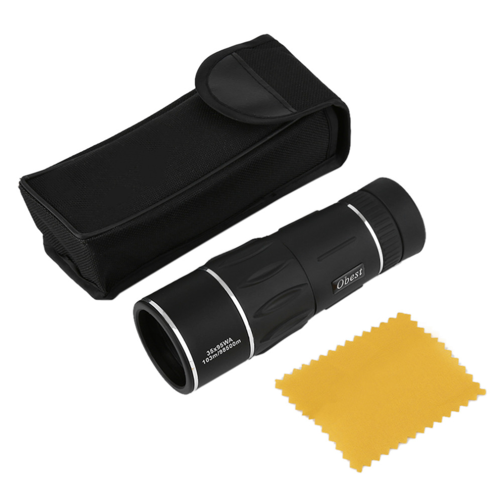 35X95 Dual Focus Zoom Optic Lens Monocular Telescope Binoculars Multi Coating Lenses Dual Focus Optic Lens Day Night Vision  цены