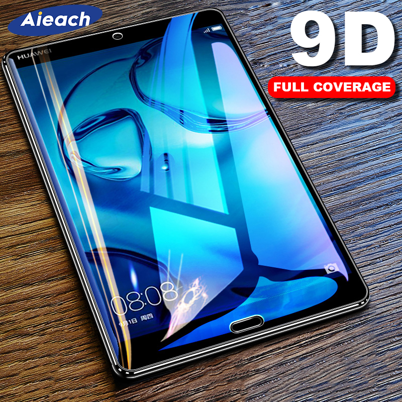9D Curved Edge Tempered Glass Film For Samsung Galaxy Tab A 10.5 2018 A 10.1 8.0 2019 Screen Protector For Galaxy Tab S4 S5e S6-0