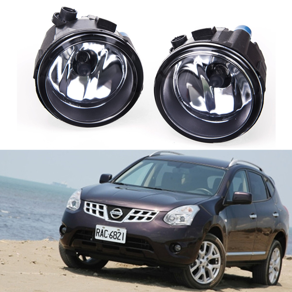 цены For NISSAN Rogue  2010-2014 Car styling Fog lights halogen lamps 1SET 26150-8990B