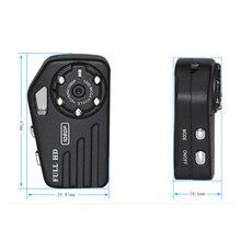 Full HD 1080 P Micro Câmera de Visão Noturna Infravermelha Câmera Mini DV Corpo de Metal do Tamanho do Polegar Pequena Câmera Digital Mini Cam DVR Espion