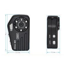 Full HD 1080P Micro Camera Infrared Night Vision Mini DV Camera Metal Body Thumb Size Small DVR Camera Digital Mini Cam Espion