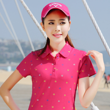 2016 Summer Women Ladies Polo Shirt Cotton damen polo hemd polo femme raph camisa maglia polo lady di marca breathable tops