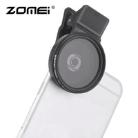 3 In 1 ZOMEI Universal 37MM CPL+Close Up Filter+ND2 400 ND Fader Filter Kit Professional M1 Phone Lens Filter For iPhone samsung