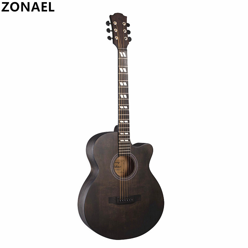 ZOANEL Hot Guitars 40 Inch High Quality Acoustic Guitar Folk Guitar font b Musical b font