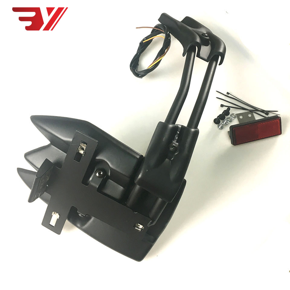 Аксессуары для мотоциклов CNC plus пластиковое заднее крыло брызговик держатель номерного знака поддержка для YAMAHA T MAX530 TMAX 530 12 18