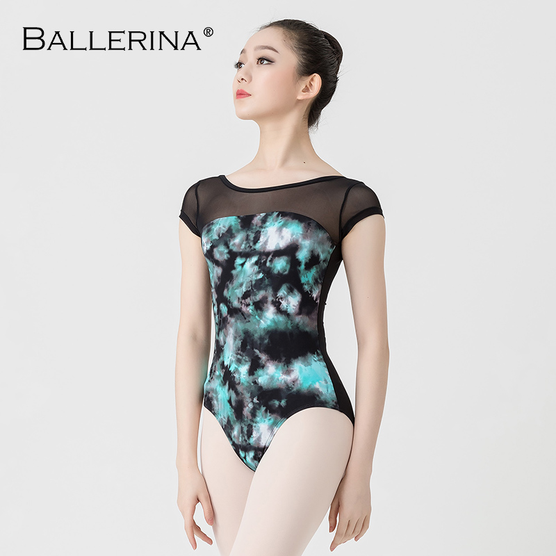 Image 4 - Ballet Leotards For Women Yoga Sexy Dance Professional training gymnastics Digital printing Leotards Ballerina 3570-in Ballet from Novelty & Special Use