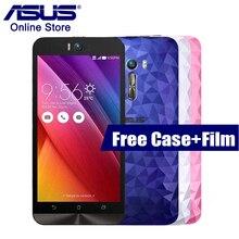 Оригинал Asus Zenfone Selfie Deluxe ZD551KL  3 ГБ RAM 16 ГБ ROM 5.5 дюймов Snapdragon 615 10 ядер Две SIM-карты 13.0 МП Android LTE мобильные телефоны