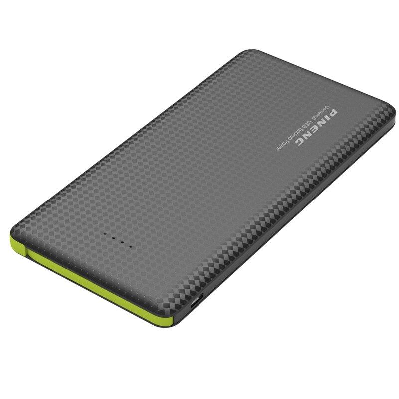 Цена за PN951 Мощность Bank 2 Порты USB 10000 мАч литий-полимерный Портативный Мощность Зарядное устройство Мощность банка для смартфонов зарядное устройство 10000 мАч