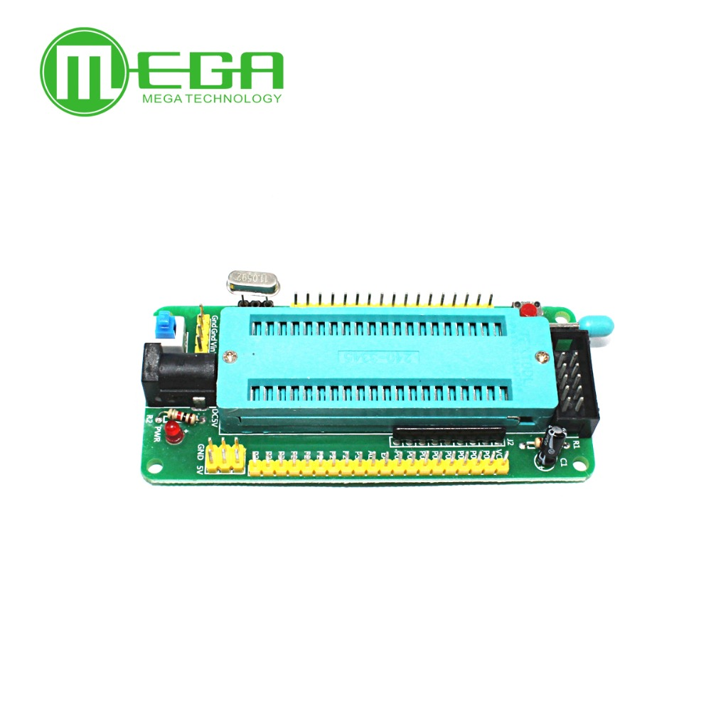 51 Avr Mcu Minimum System Board Development Learning Stc Atmel Usb Programmer Circuit Zif Socket Usbasp Atmega8 1 Microcontroller In Integrated Circuits From Electronic