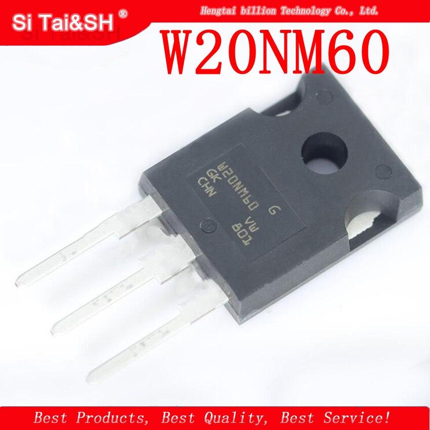 10PCS W20NM60 STW20NM60 TO-3P ST