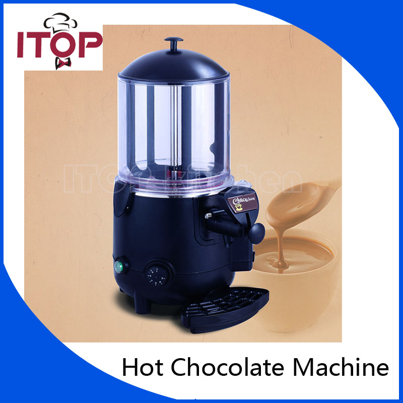ITOP 5L Hot Chocolate Dispenser Commercial Machine Perfect for Cafe, Party, Shop and Small Bar Baine Marie chocolate 5