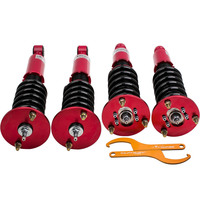 Absorbers Coilovers Kits For Mitsubishi Eclipse 1995 1999 Adj Damper Shocks Suspension Damper Force Camber Plate front Rear