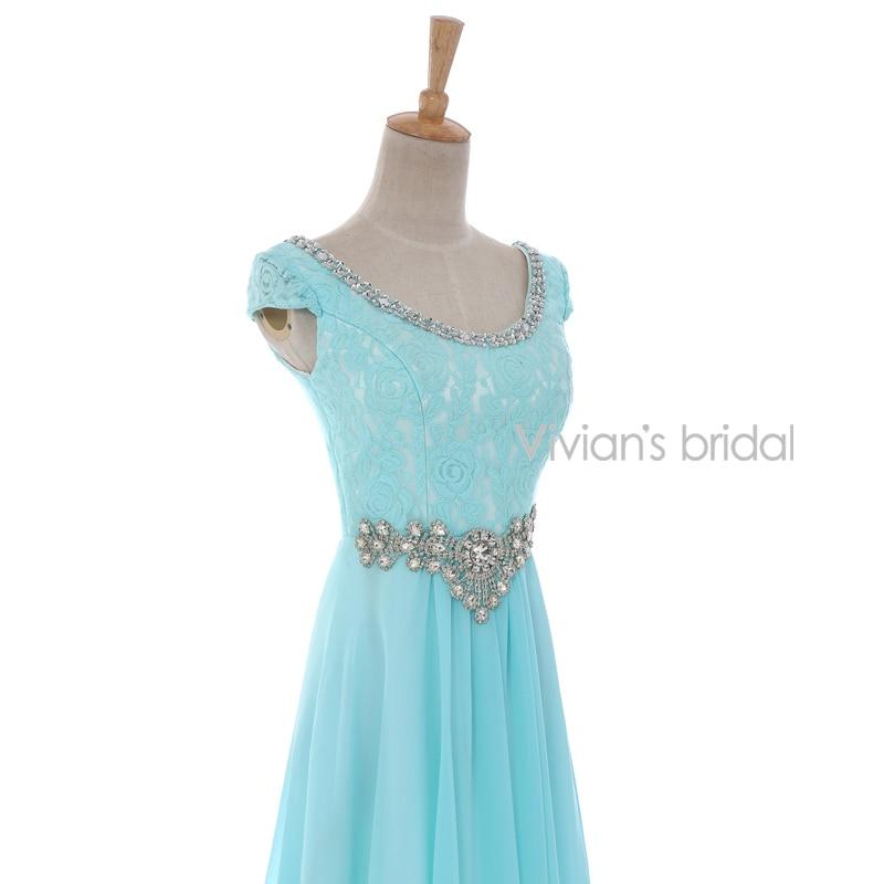 Vivian's Bridal Crystal Beads Ұзын кешкі көйлек - Ерекше жағдай киімдері - фото 4